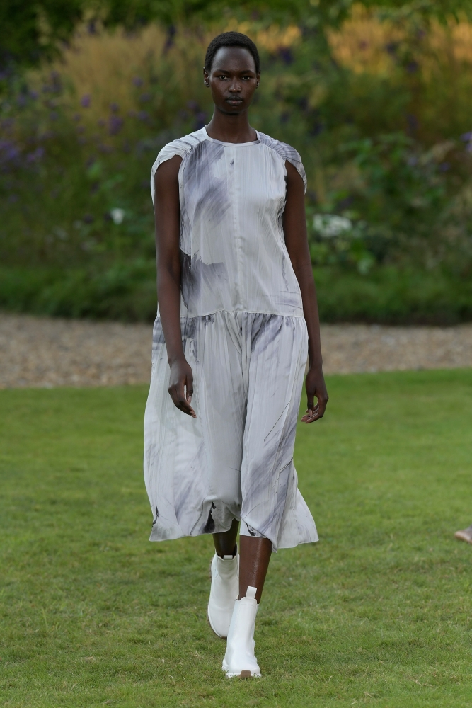 Nyarach Abouch Ayuel for Tiger of Sweden S/S 22