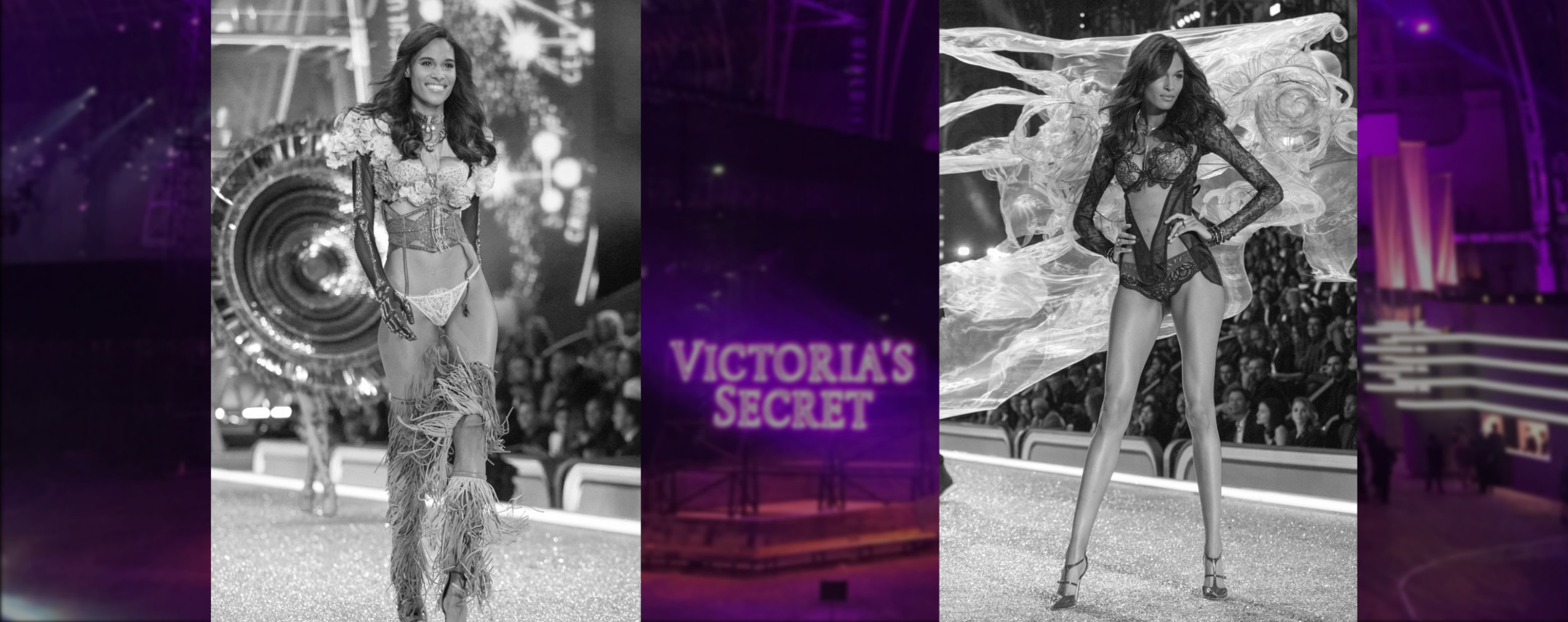 ⚡️ CINDY BRUNA SET FIRE TO THE VICTORIA'S SECRET SHOW ⚡️
