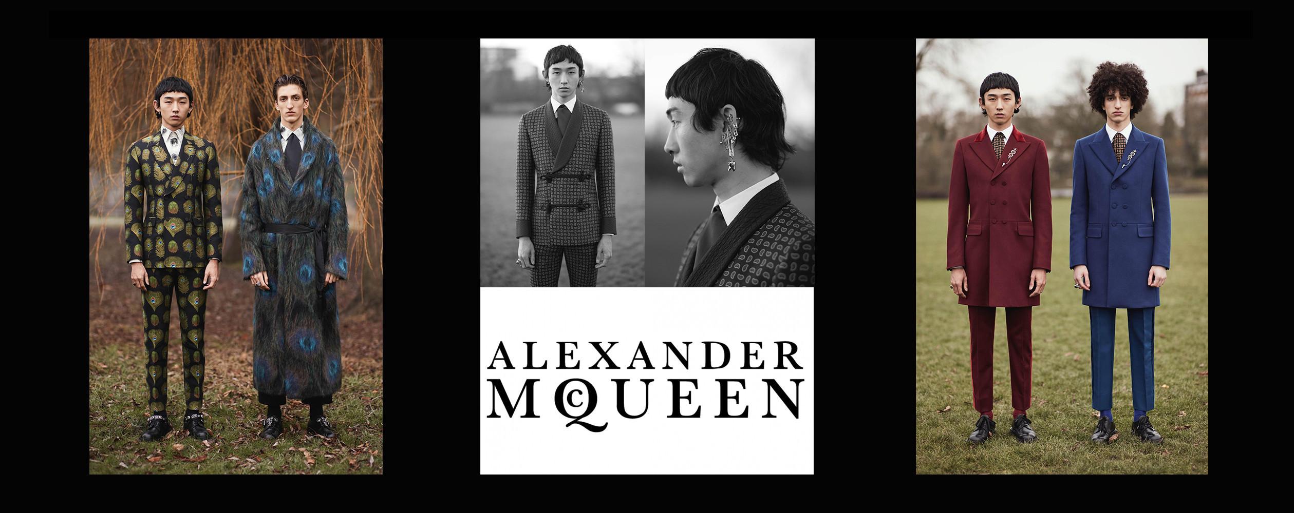 Tsubasa for Alexander McQueen FW2017