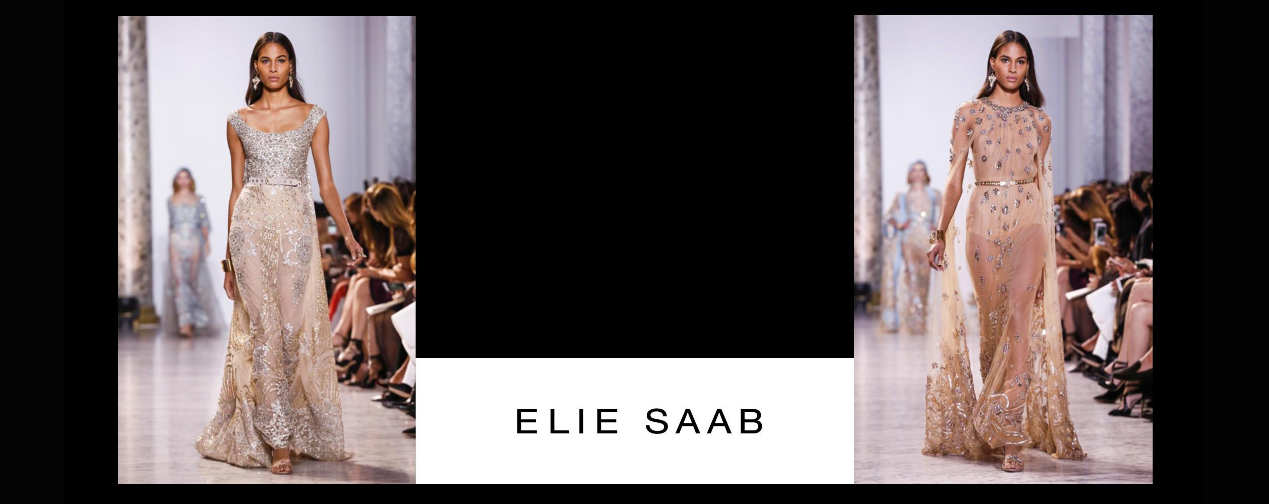 Cindy Bruna for Elie Saab #CoutureSS2017