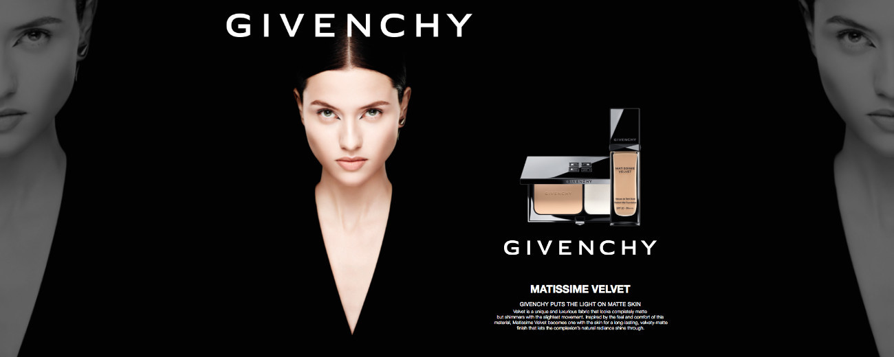 ISIS BATAGLIA FOR GIVENCHY BEAUTY CAMPAIGN