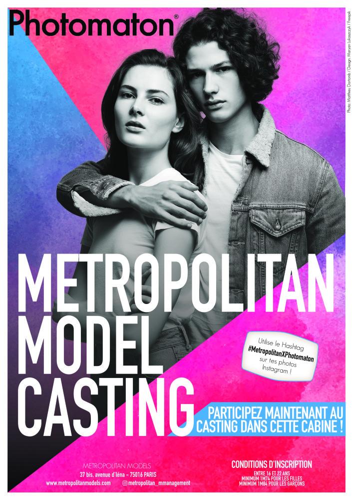 Metropolitan x Photomaton Model Casting