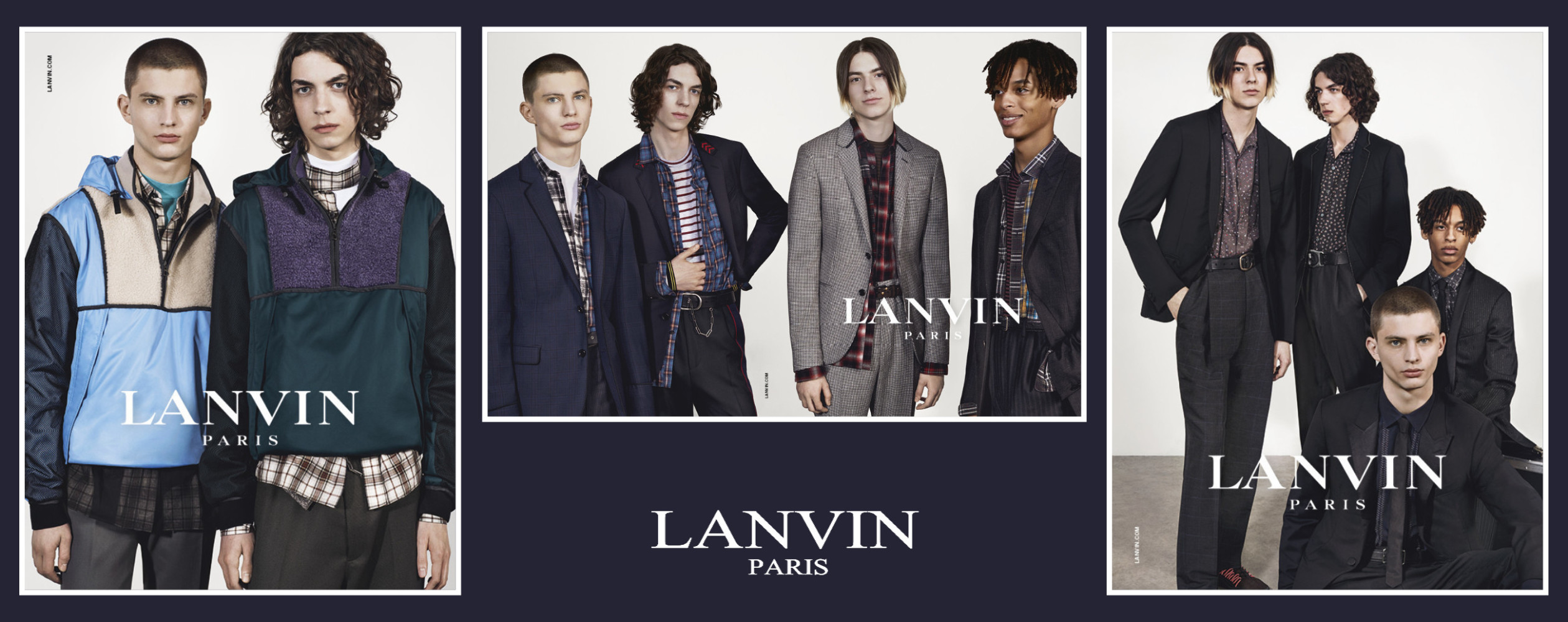 OLEG ULRICH FOR LANVIN FW17 CAMPAIGN
