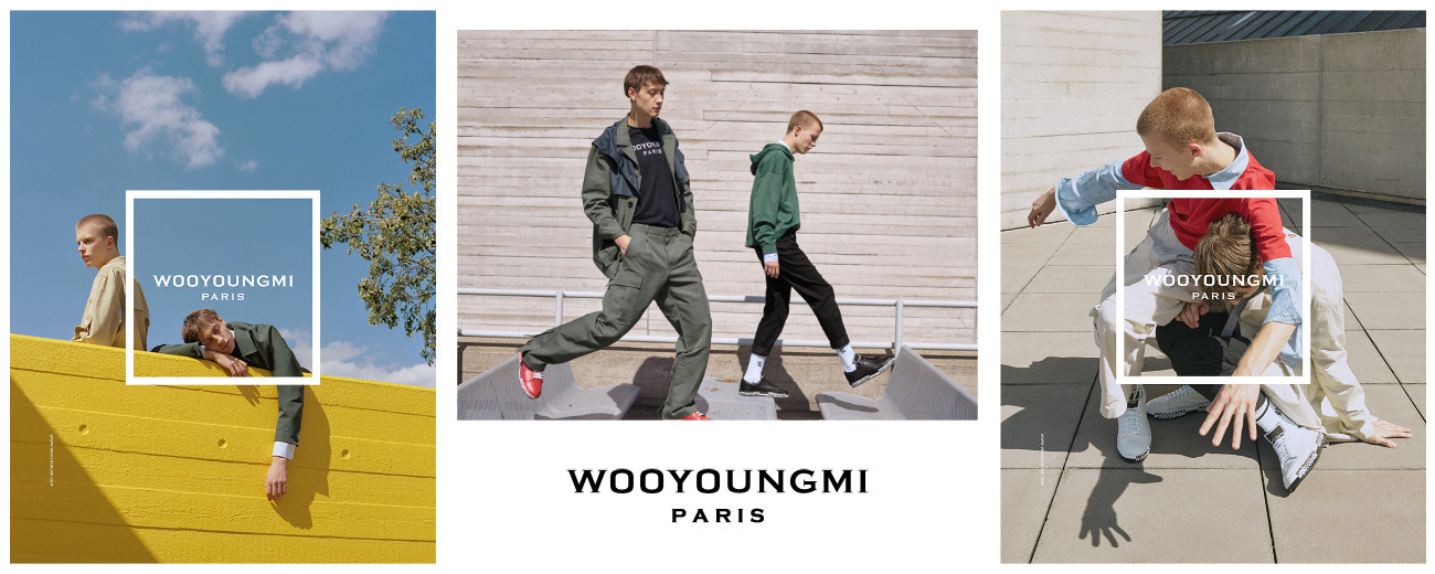 DAN STEWART FOR WOOYOUNGMI SS18 CAMPAIGN