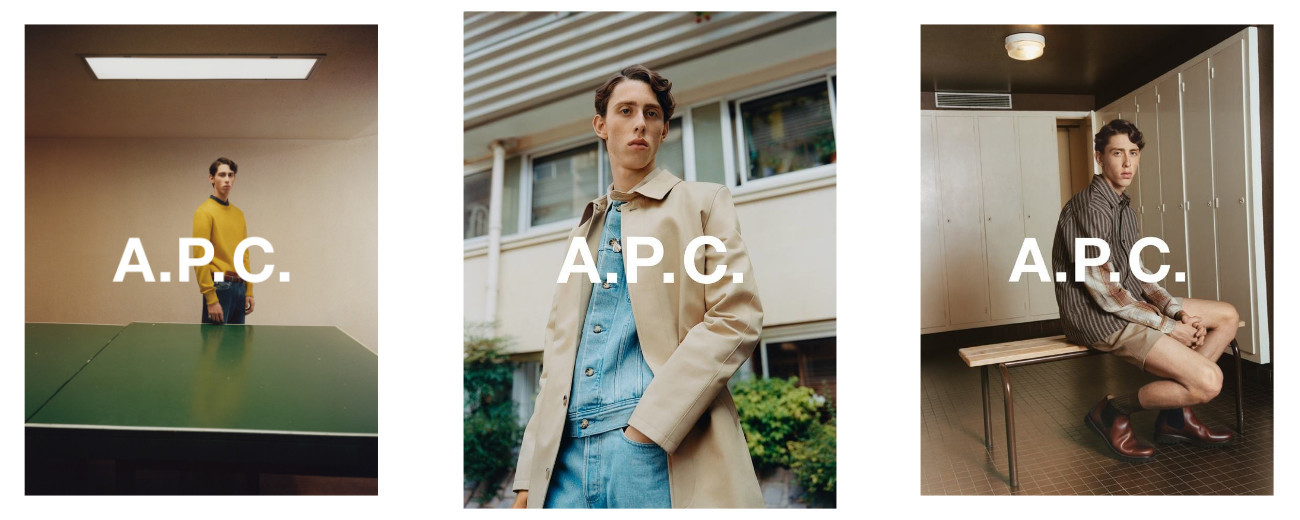 RODRIGUE FOR A.P.C. SS18 CAMPAIGNS