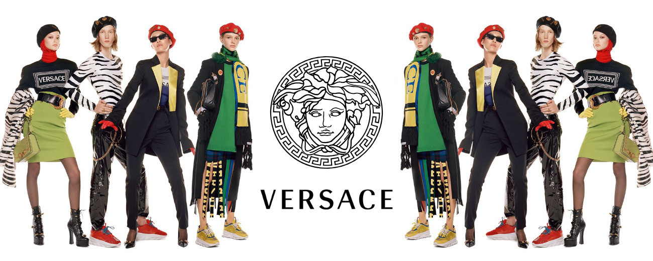 MATT FOR VERSACE FW18 CAMPAIGN