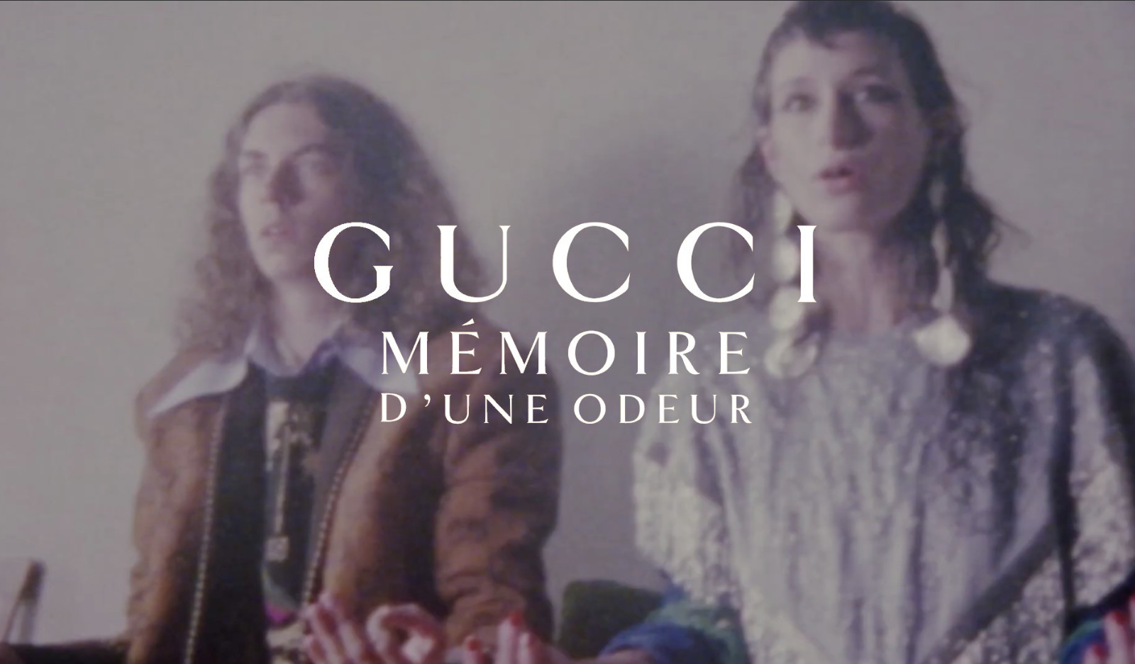 OLEG FOR GUCCI FRAGRANCE CAMPAIGN