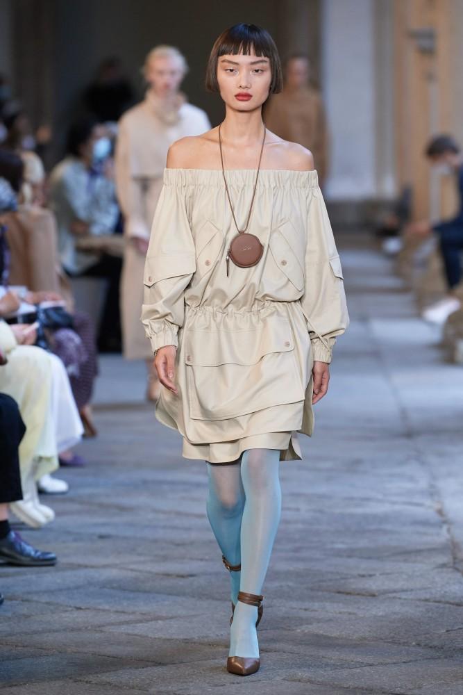 Mao for Max Mara fashion show SS21
