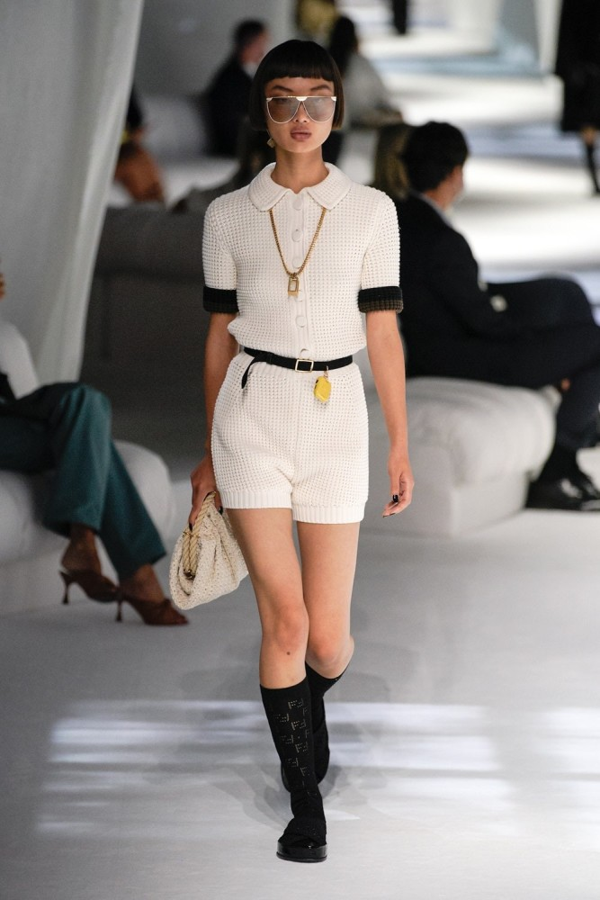 Mao for Fendi fashion show SS21