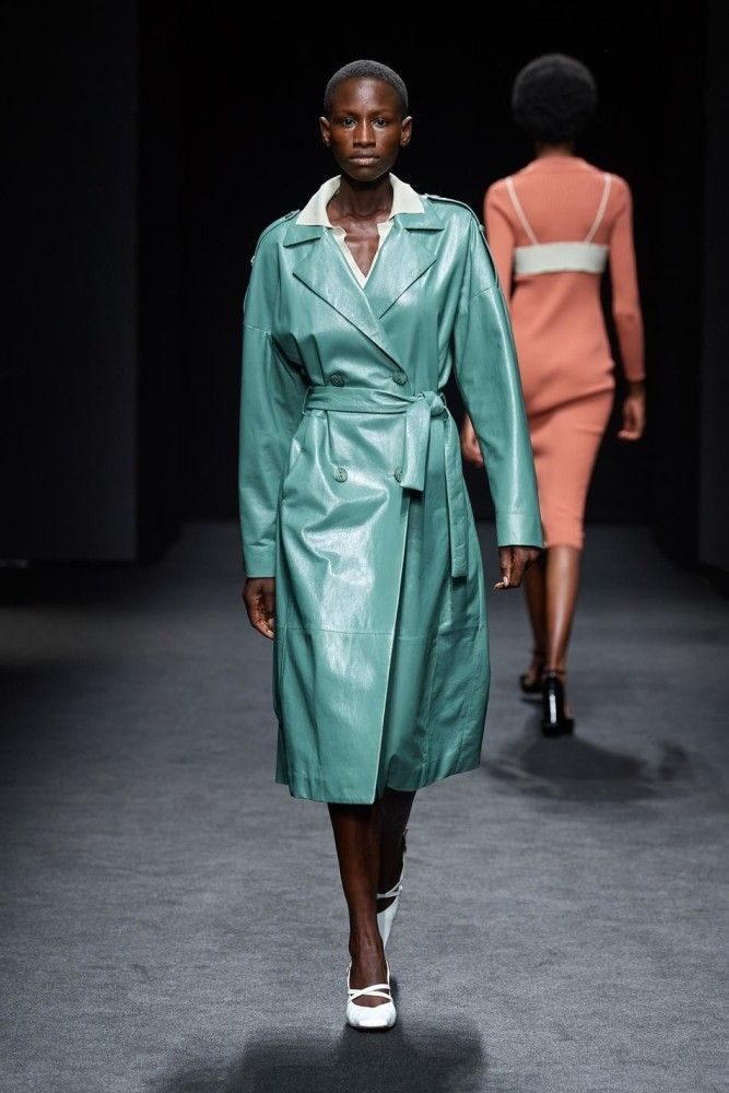 Feuza for DROME fashion show SS21 in Milan