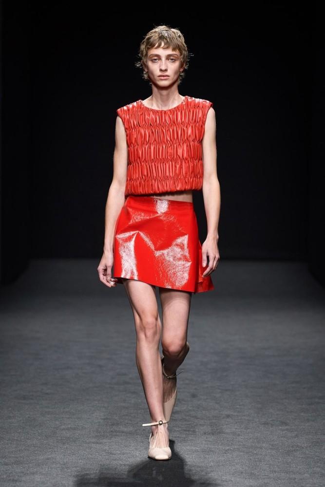 Lika for DROME fashion show SS21 in Milan