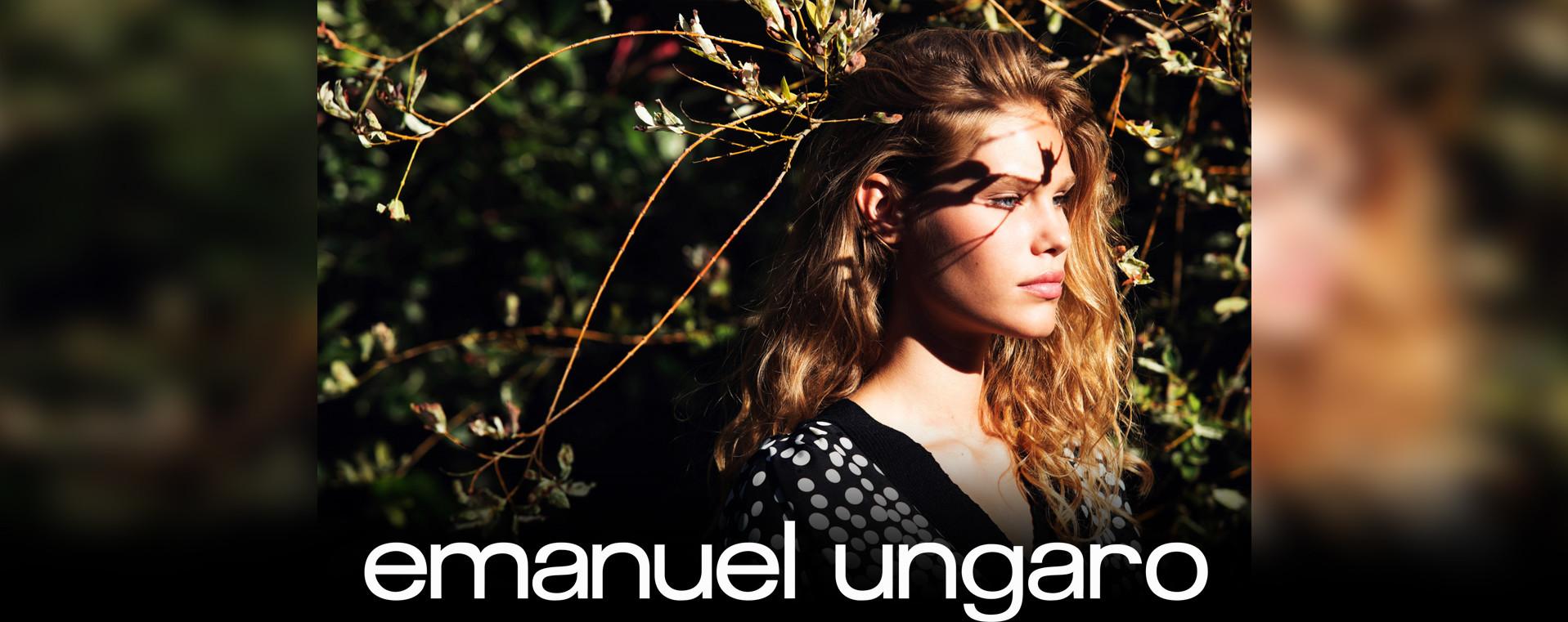 Margo Millien for EMANUEL UNGARO