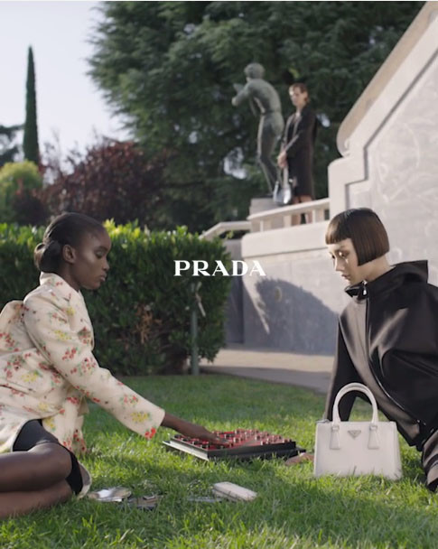 Mao for Prada Campaign by Steven Meisel