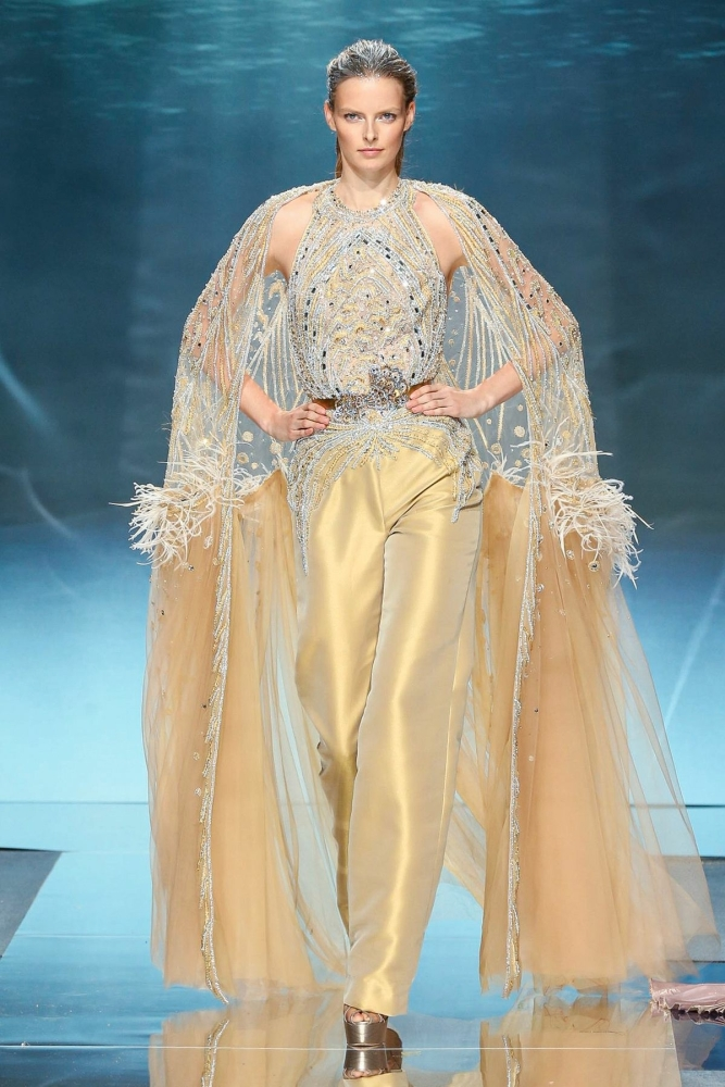 ELZA FOR ZIAD NAKAD HAUTE COUTURE SPRING20