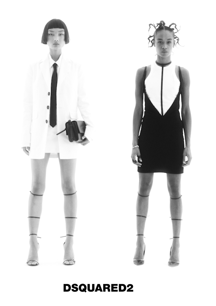 Mao & Serena for Dsquared2 SS21