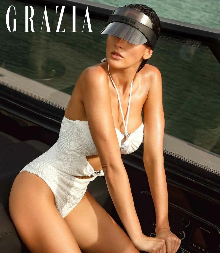 Daniela Botero for Grazia Greece