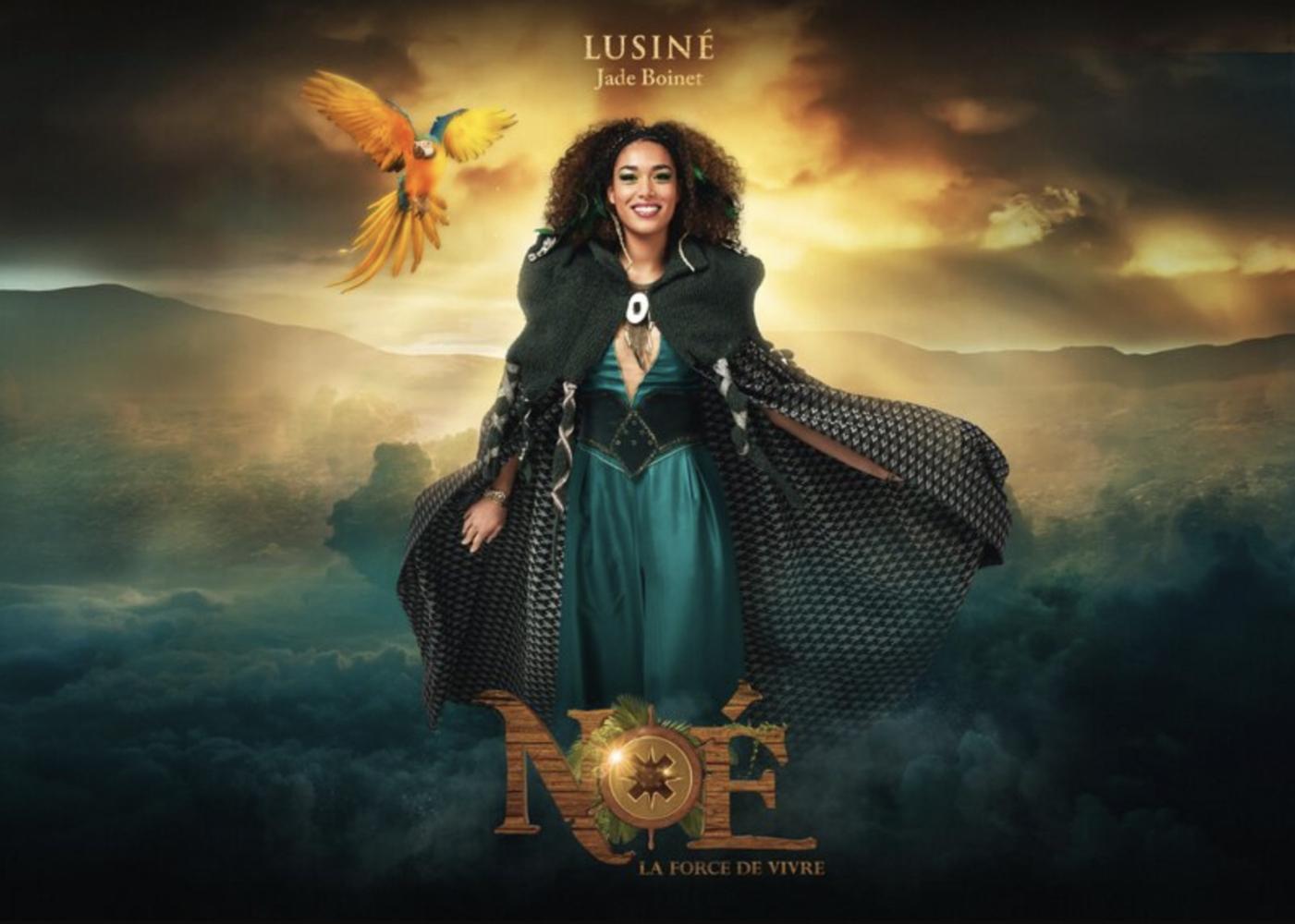 Jade Boinet pour la comédie musicale Noé