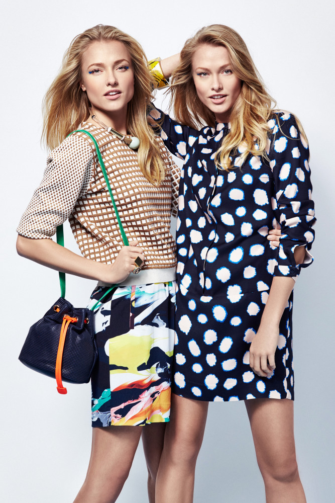 Aida and Ieva for Feeling Magazine #May 2015