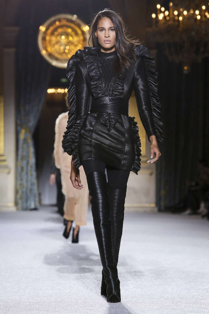 CINDY BRUNA 14th SHOW FOR BALMAIN !