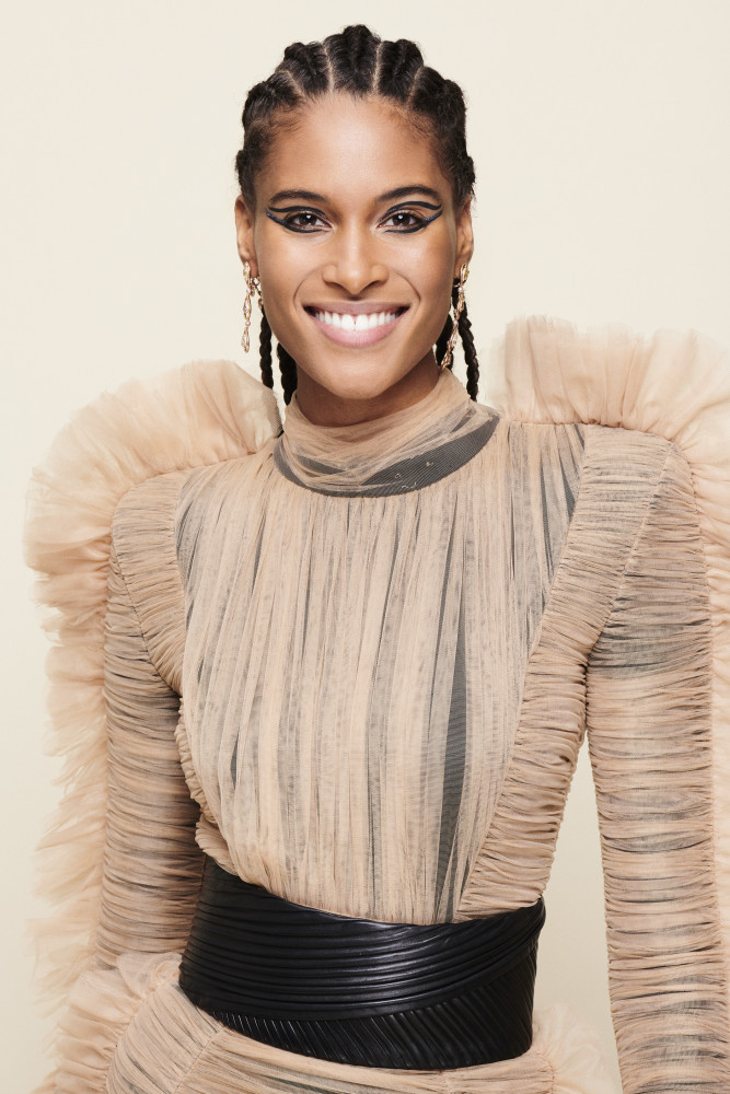 CINDY BRUNA FOR L'OREAL SHOW