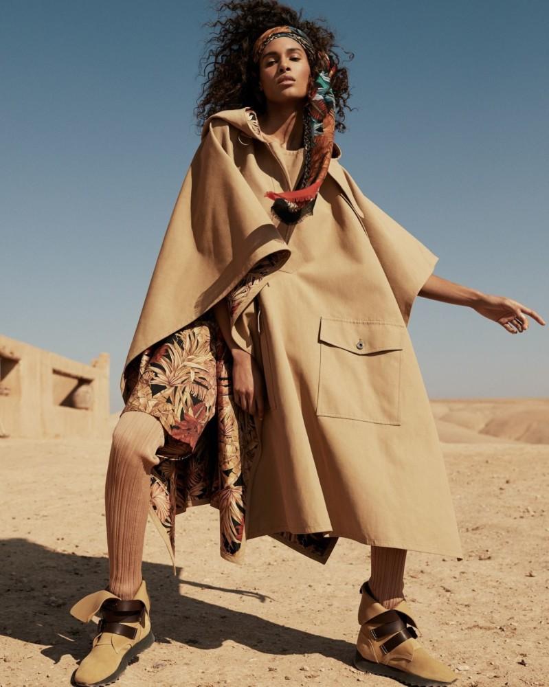 CINDY BRUNA FOR VOGUE ARABIA