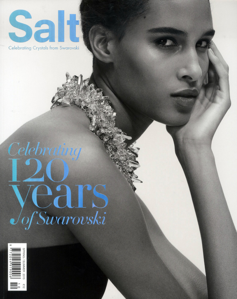 Cindy Bruna features in the Salt Magazine photographed by sofie middernacht