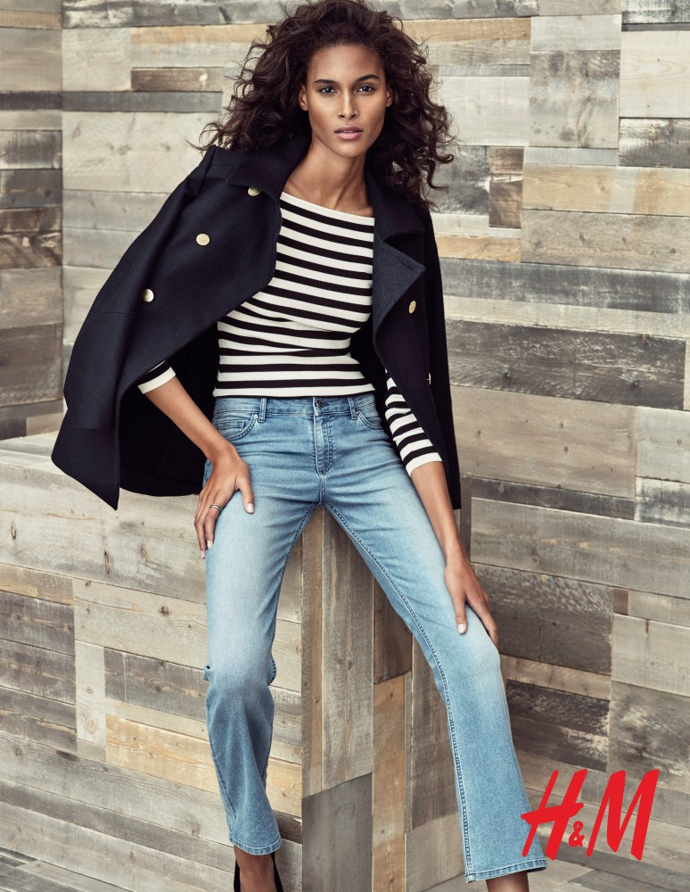 Cindy Bruna for H&M FW2016 campaign