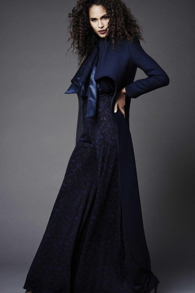 Cindy Bruna for Zac Pozen Pre-Fall 2015 collection