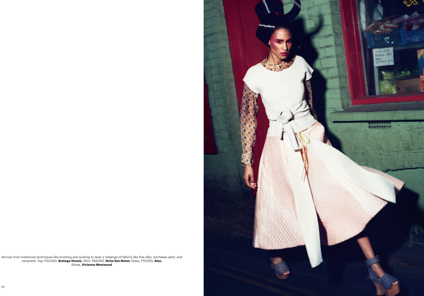 Cindy Bruna for Harper's Bazaar India May 2015 Issue