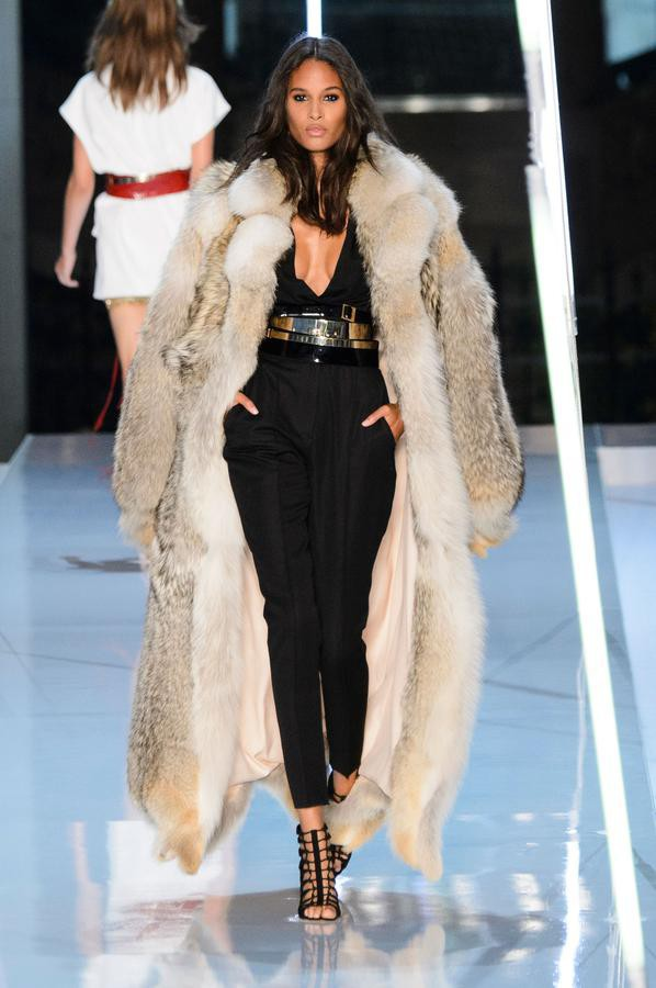 Cindy Bruna for Alexandre Vauthier Haute Couture Fall-Winter 15/16