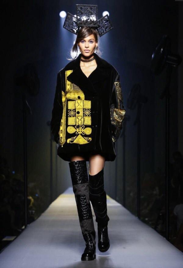 Cindy Bruna for Jean Paul Gautier Haute Couture Fall-Winter 15/16