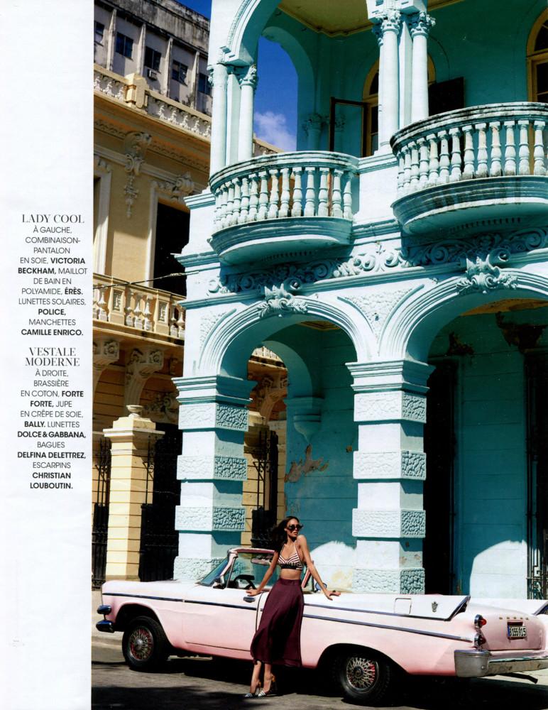Cindy Bruna for Madame Figaro