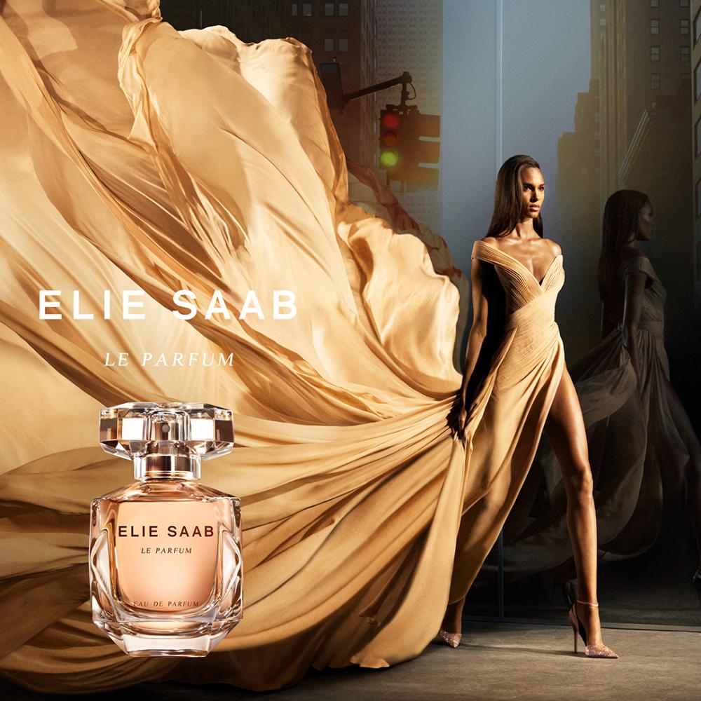 Cindy Bruna for Elie Saab Le Parfum