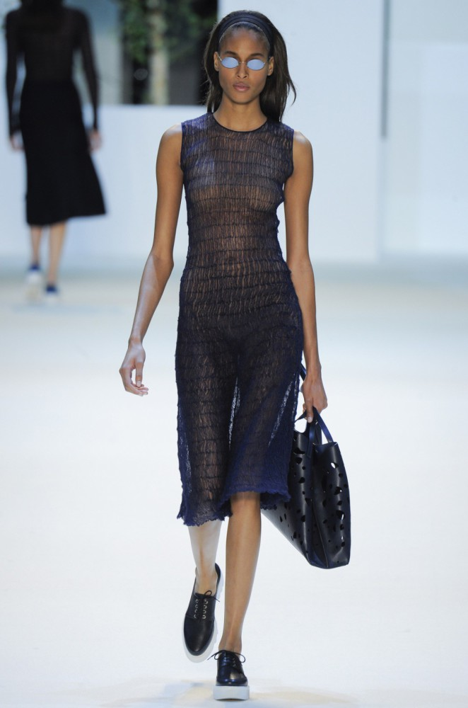 Cindy Bruna for Akris PFW SS16