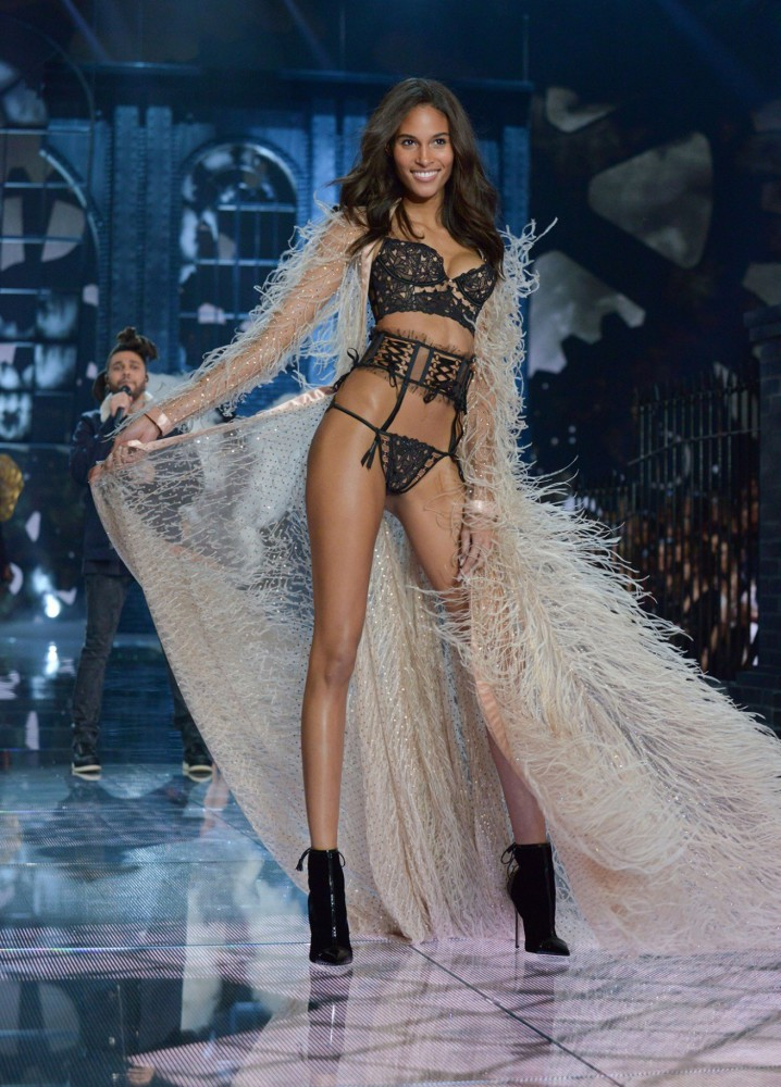Cindy Bruna for Victoria's Secret Show 2015
