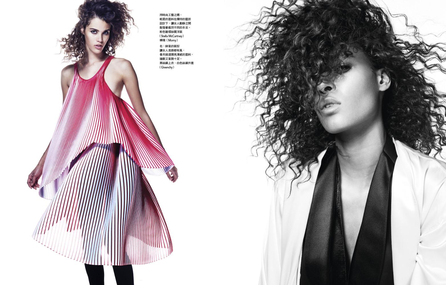 Cindy Bruna for Vogue Taïwan March 2016