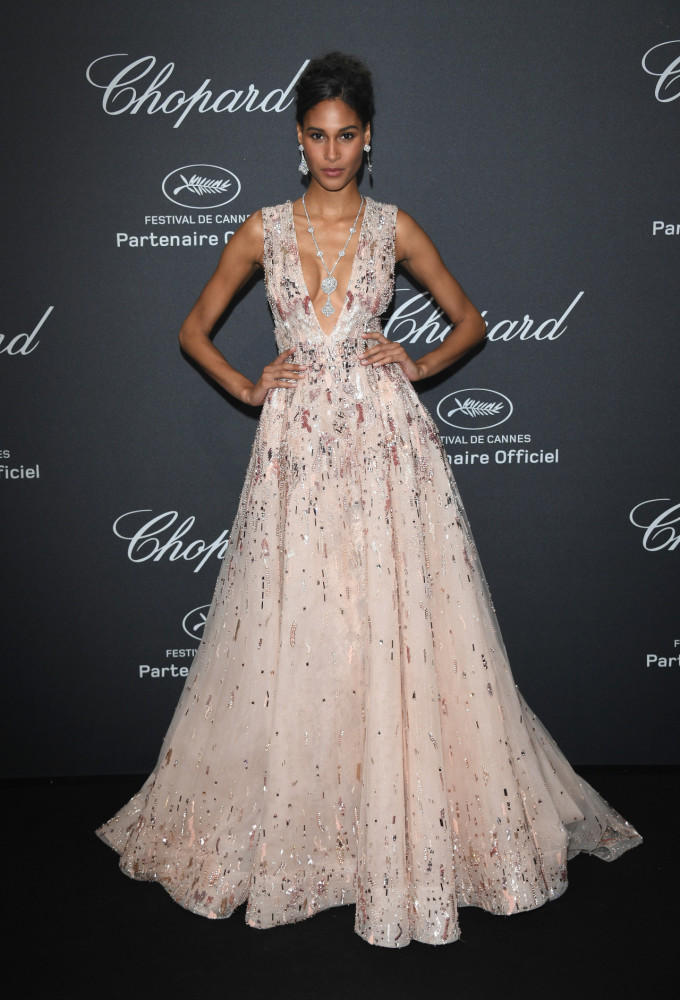 Cindy Bruna attends the 69th Cannes Festival