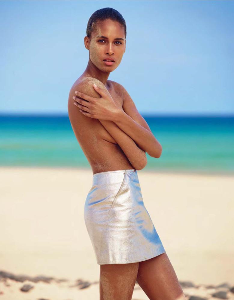 Cindy Bruna for Vogue Ukraine June 2016