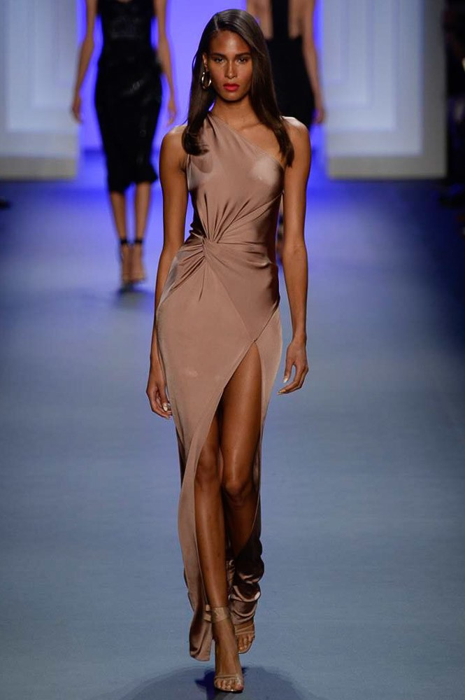 Cindy Bruna for Cushnie&Ochs NYFWSS2017