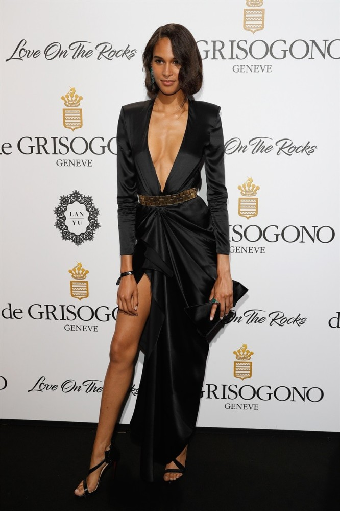 Cindy Bruna at DeGrisogono Party