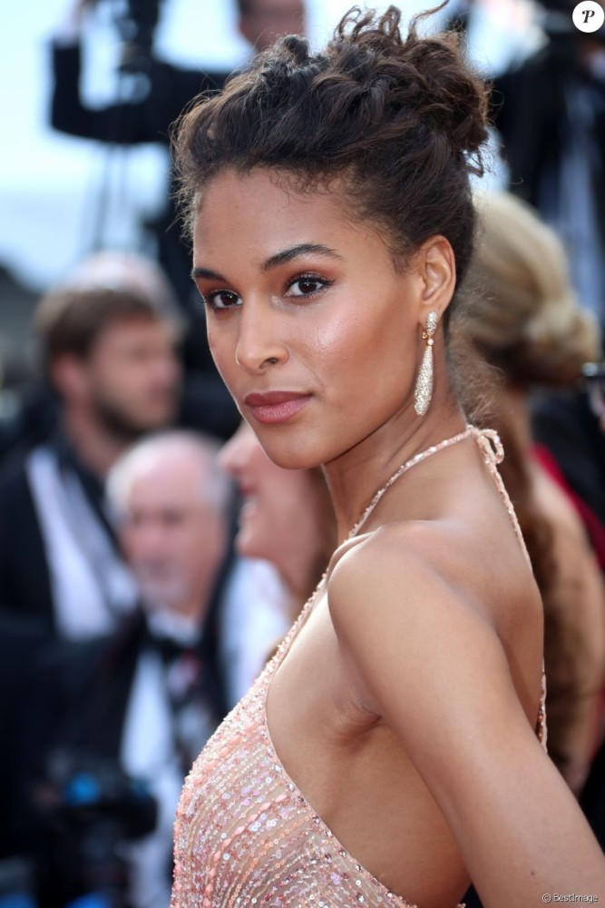 Cindy Bruna at 70th annual Festival de Cannes
