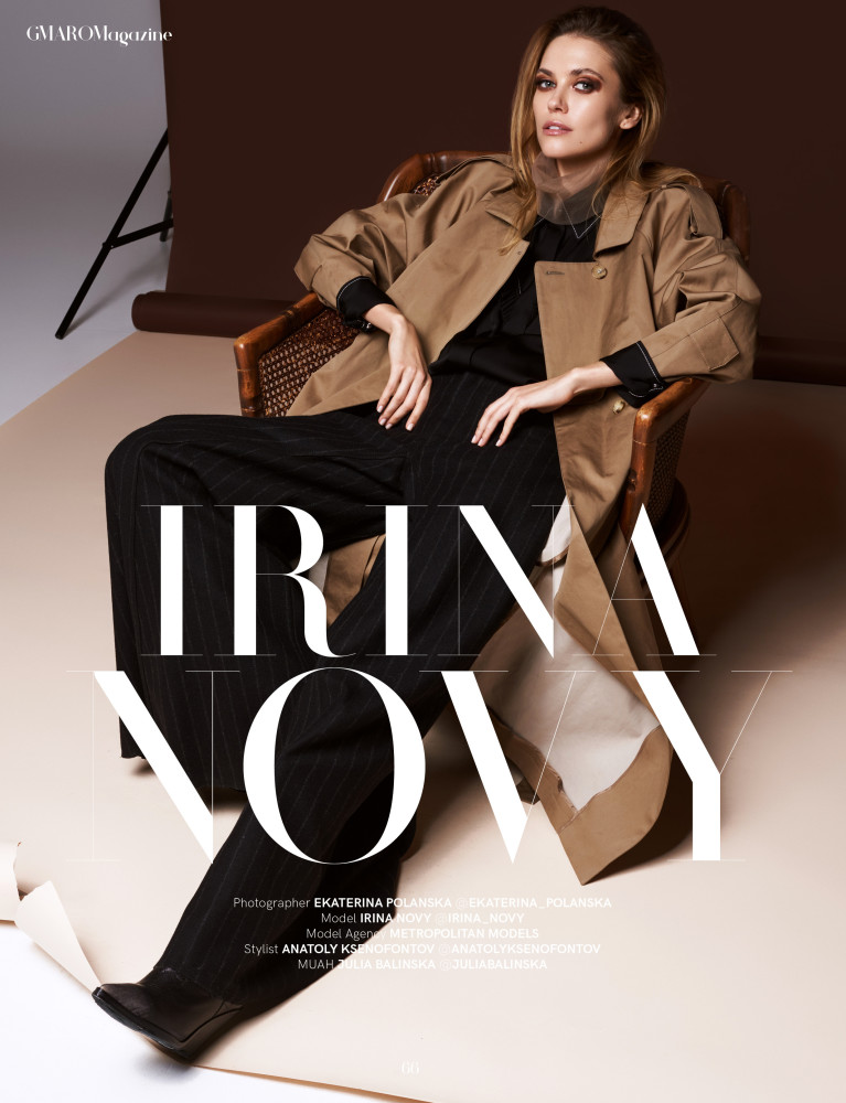 IRINA NOVIKOVA FOR GMARO MAGAZINE
