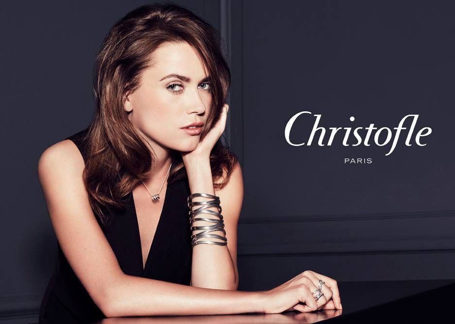 Irina N for Christofle campaign