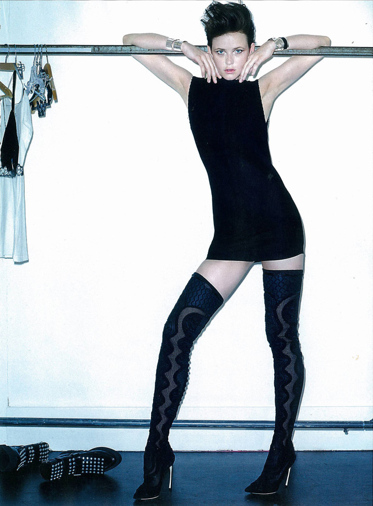 Tanya C for Cosmopolitan France September 2015