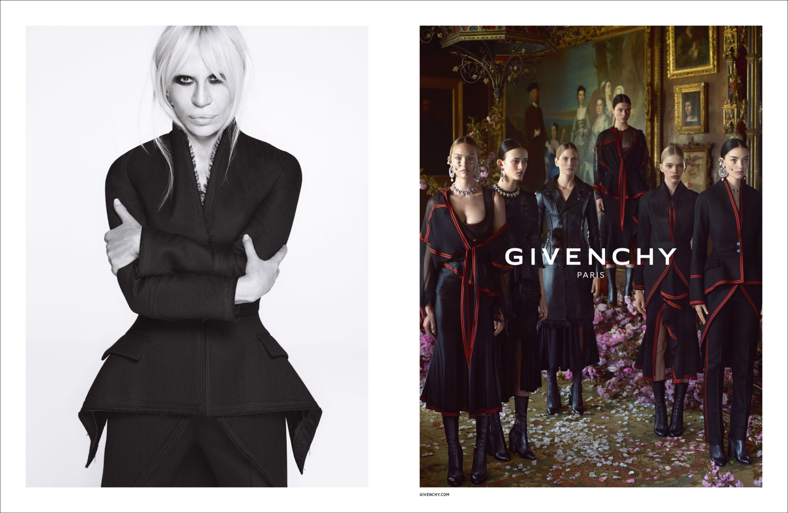 Isis Bataglia for Givenchy FW2015 campaign