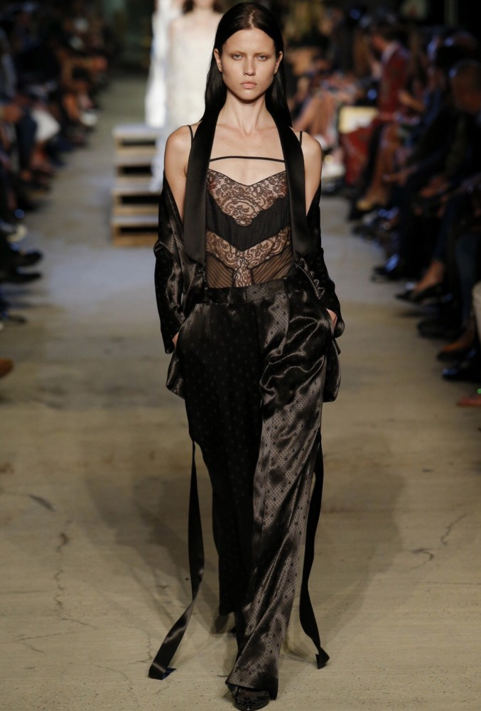 Isis Bataglia exclusive for Givenchy NYFW SS16