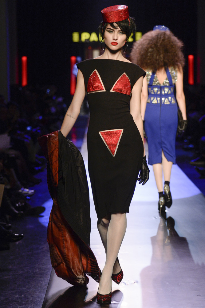 Isis for Jean-Paul Gaultier Haute Couture Spring 2016 Show