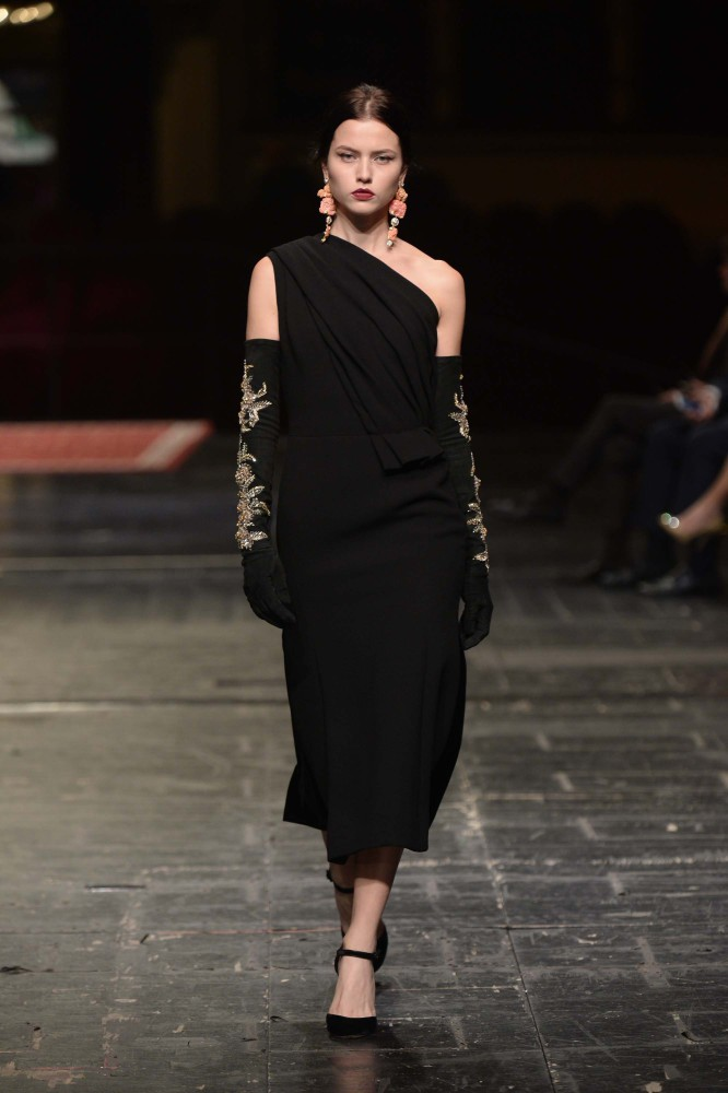 Isis for Dolce & Dolce & Gabbana's Alta Moda