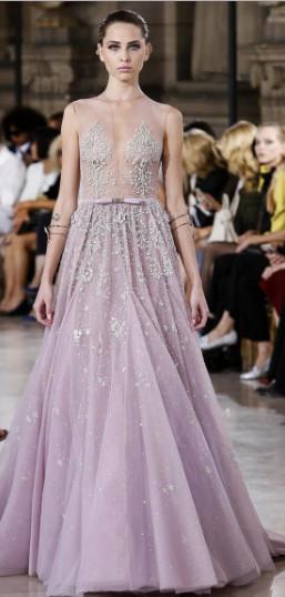 Samanta K for Georges Hobeika #CoutureFall2016