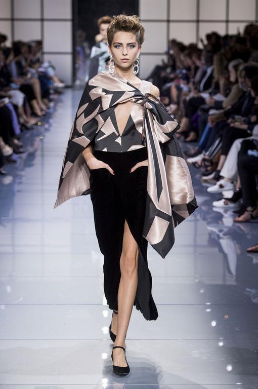 Samanta K for Giorgio Armani Privé #CoutureFall2016